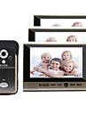 30W 120 CMOS systeme sonnette Sans fil Sonnette video Multifamilial