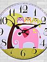 Moderne/Contemporain Autres Horloge murale,Rond Autres 30*30cm*3cm Interieur Horloge