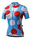 Sport Cykeltröja Dam Kort ärm CykelAndningsfunktion / Snabb tork / Ultraviolet Resistant / Anti-Eradiation / Bärbar / Antistatisk / Hög