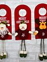 julgran dekor ornament xmas hem dörr dekoration Santa Claus snögubbe ren