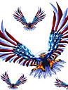 huven dörren reservdäck kroppen dekoration klistermärken eagle klistermärke set r409