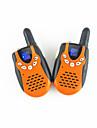 3651 paire mini-walkie-talkie uhf deux rechargeable exterieur famille equipe tourisme peut choisir d\'utiliser.