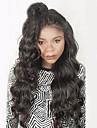 8a hela spets människohår peruker för kvinnor 130% densitet vågigt människohår peruker brasilianskt jungfruligt hår spets peruk