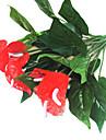 1 1 Une succursale Plastique Autres Fleur de Table Fleurs artificielles 32cm