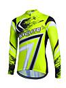 Sportif Maillot de Cyclisme Femme / Homme / Enfant / Unisexe Manches longues VeloRespirable / Garder au chaud / Sechage rapide / Zip