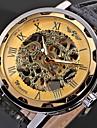 WINNER® Men's Watch Mechanical Hollow Engraving Cool Watch Unique Watch Skeleton Watch Fashion Watch