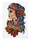 1 Tatueringsklistermärken Annat Ogiftig Mönster Ländrygg VattentätDam Herr Vuxen Blixttatuering tillfälliga tatueringar