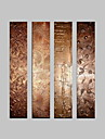 visuell star®4 panel sträckta kanvas oljemålning abstrakt väggdekor duk konst redo att hänga