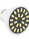 5W GU10 Spot LED MR16 24 SMD 5733 400-500 lm Blanc Chaud Blanc Froid Decorative AC 100-240 AC 110-130 V 1 piece