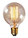g80 e27 incandescence 40w ampoule vintage pour barre de menage cafe hotel (AC220-240V)