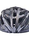 MOON Cykling svart och guld PC / EPS 27 Vents Ljus Cykelhjälm