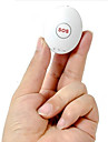 LEKEMI Sans-Fil  Mini GPS tracker pour personnel use Blanc