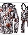 Dam / Herr / Unisex Klädesset/Kostymer Camping / Jakt / VintersportVattentät / Andningsfunktion / Håller värmen / Vindtät / Isolerad /