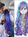 cheveux synthetiques 70cm couleur mixte longs ondules animes petite princesse poney celestia cosplay harajuku perruques mes femmes pas