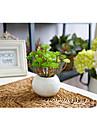 """1 Branch 1 Une succursale Plastique Plantes Fleur de Table Fleurs artificielles Total Length:5.9"""""""