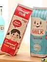 mjölkpaket konstruktion textil penna väska