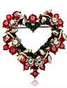 Dame Broșe Iubire La modă Chrismas European Bijuterii Pentru Petrecere Ocazie specială Zi de Naștere Zilnic Casual Cadouri de Crăciun