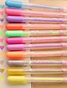 stylo pastel petite fille belle princesse de couleur bonbon (une boite de 12)