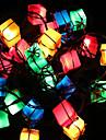 noel lumieres de decoration sac cadeau article conduit scintillent les lumieres d\'arbre de lumiere la prise decoration 28lamp fete du