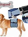 Hundar Byxa Blå / Svart Hundkläder Sommar / Vår/Höst Enfärgat Ledigt/vardag Doglemi