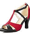 Latin-Pantofi de dans(Negru) -Personalizabili-Damă