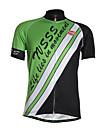 Sportif Maillot de Cyclisme Homme Manches courtes VeloRespirable / Sechage rapide / Zip frontal / Vestimentaire / Tissu Ultra Leger /