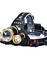Belysning LED-Ficklampor LED 4800 lumens Lumen 4.0 Läge Cree T6 18650Justerbar fokus / Vattentät / Laddningsbar / Stöttålig / Superlätt /