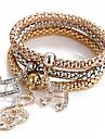Bracelet Charmes pour Bracelets Alliage Quotidien Decontracte Sports Regalos de Navidad Bijoux Cadeau Dore,1pc