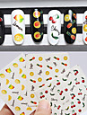 3pcs Nail Sticker Art Autocollants de transfert de l\'eau Maquillage cosmetique Nail Art Design