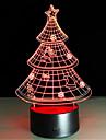 cadeau de Noel 3d nightlight creatif lampe conduit colore