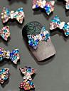 10 nagel konst Decoration Strass Pearls skönhet Kosmetisk nagel konst Design
