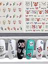 3 Autocollant d\'art de clou Autocollants de transfert de l\'eau Maquillage cosmetique Nail Art Design
