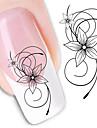 1 nagel konst Sticker Vatten Transfer Dekaler skönhet Kosmetisk nagel konst Design