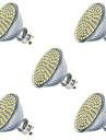 7W GU10 / GX5.3 Spot LED MR16 80led SMD 2835 650lm lm Blanc Chaud / Blanc Froid Decorative V 5 pieces