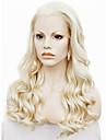 imstyle 24\'\'beautiful värmebeständigt 613 blond långvåg syntetisk spets front peruk