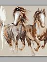 Peint a la main Abstrait Animal Peintures a l\'huile,Moderne Classique Un Panneau Toile Peinture a l\'huile Hang-peint For Decoration