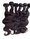 Tissages de cheveux humains Cheveux Malaisiens Ondulation naturelle 18 Mois tissages de cheveux
