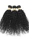 3 Pieces Kinky Curly Tissages de cheveux humains Cheveux Bresiliens 100g per bundle 8inch-28inch Extensions de cheveux humains