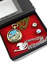 Ceas/Ceas de Mână / Mai multe accesorii Inspirat de Basme Lucy Heartfilia Anime Accesorii Cosplay Colier / Ceas/Ceas de Mână / inel Auriu