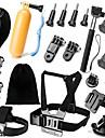 Accessoires pour GoProFixation Frontale / Insert Antibuee Caisson Camera Sportive / Monopied / Trepied / Sacs / Vis / Buoy / Grande