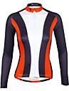 PALADIN® Maglia da ciclismo Per donna Maniche lunghe BiciclettaTraspirante / Asciugatura rapida / Resistente ai raggi UV / Compressione /