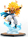Figures Anime Action Inspire par Dragon Ball Cosplay Anime Accessoires de Cosplay figure Jaune PVC