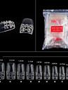 500pcs nude art conseils faux ongles en acrylique uv salon outils nail art francais