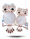 aliaj de moda / stras / cristal partid Brosa pini femei / pe zi / forma de animale casual, bijuterii 1pc