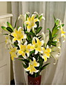 1 1 Gren Plast / Others Liljor / Others Golvväxt Konstgjorda blommor