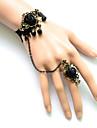 Smycken Gotisk Lolita Armband/Fotledsband Lolita Svart lolita tillbehör Armband Ring Spets För Dam Satäng Spets Legering