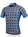 fastcute Veste de Cyclisme Homme Manches courtes Velo Veste Chemise Shirt Survetement MaillotSechage rapide Permeabilite a l\'humidite