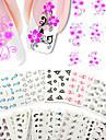 50st nagel konst Sticker Vatten Transfer Dekaler skönhet Kosmetisk nagel konst Design