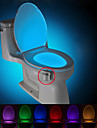 active par le mouvement nightlight de toilette, WC conduit salle de bain de lumiere toilettes