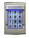 125kHz rfid åtkomstkontroll nattlysande tangentbord passersystem